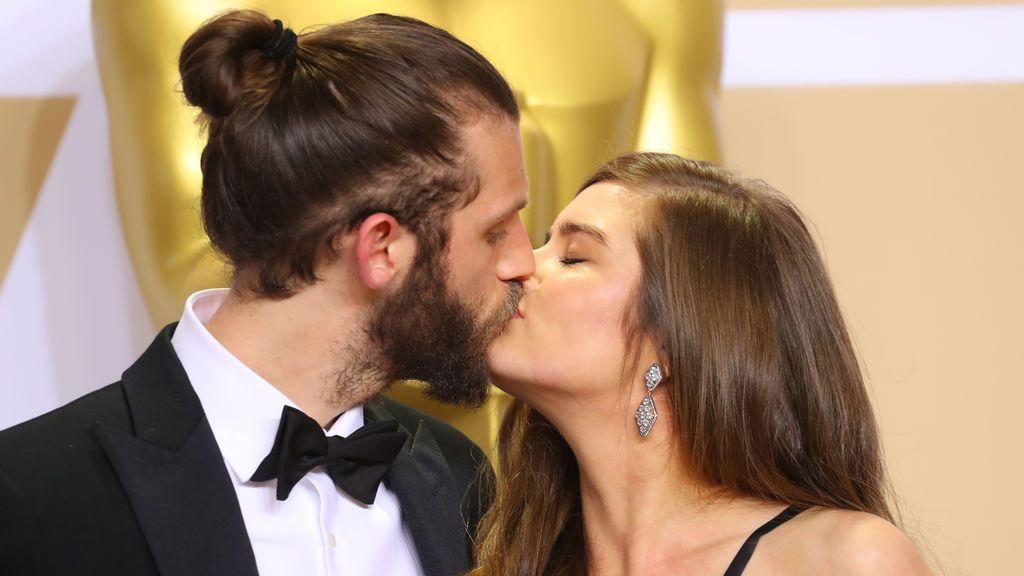 Chris Overton y Rachel Shenton
