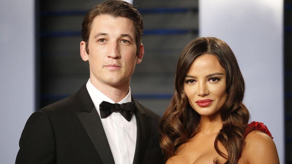 El actor Miles Teller y la actriz Keleigh Sperry