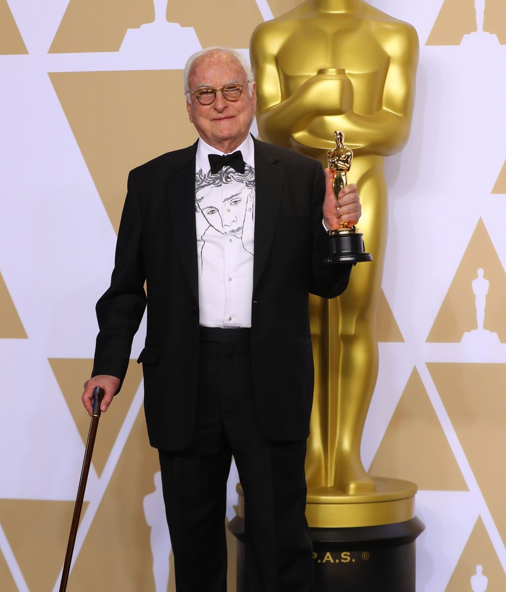 James Ivory gana el Oscar al mejor guión adapatado por 'Call me by your name'