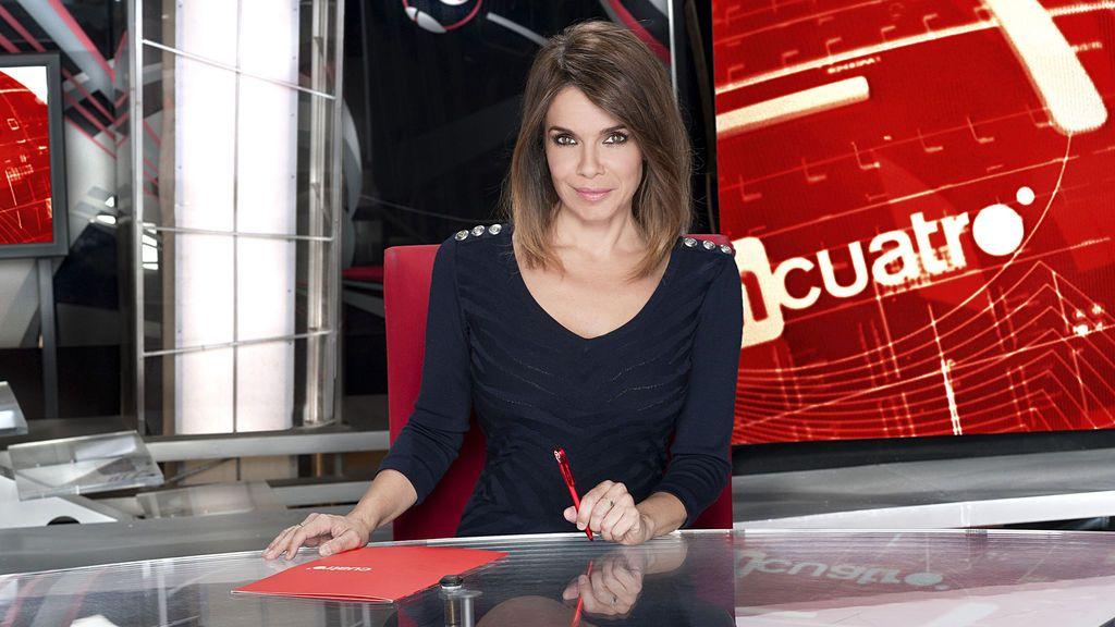 Carme Chaparro presenta 'Noticias Cuatro 1'.