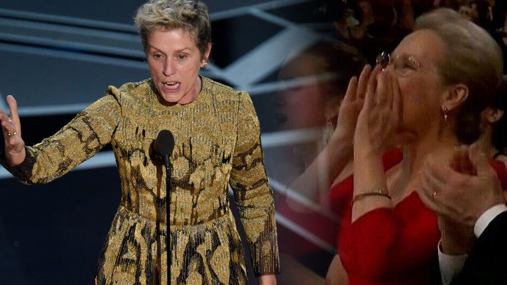 Feminismo en los Oscar 2018: el discurso de Frances McDormand que ha puesto a todas las mujeres en pie