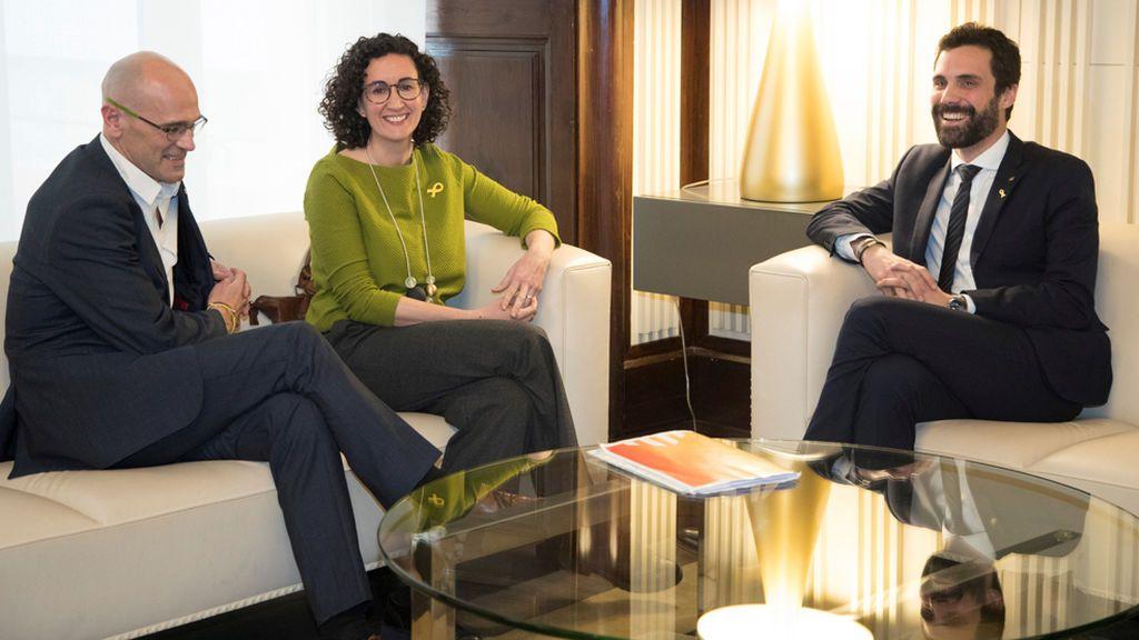 """ERC comunica a Roger Torrent que apoyará a Jordi Sànchez para """"poner fin al 155"""""""