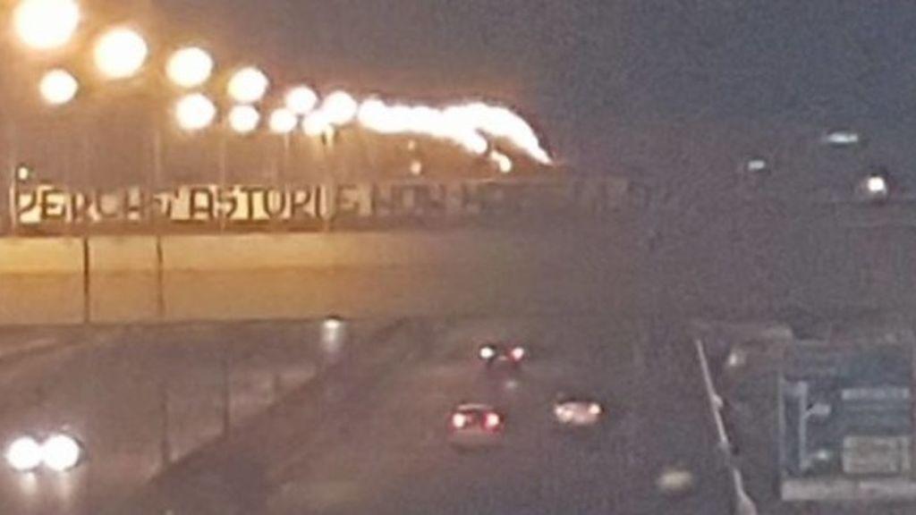 La vergonzosa pancarta en Bari tras el fallecimiento de Davide Astori, capitán de la Fiorentina