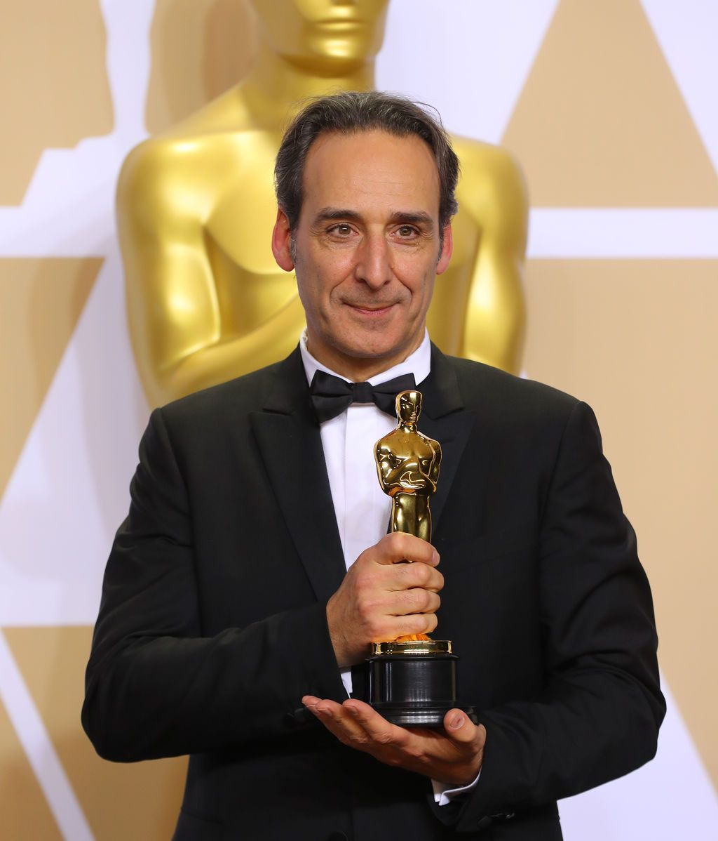 Alexandre Desplat gana el Oscar a la mejor banda sonora por 'La forma del agua'