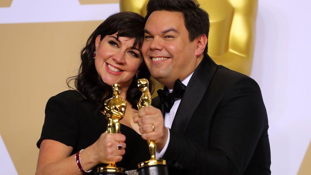 Kristen Anderson-Lopez y Robert Lopez han conseguido el Oscar a mejor canción original por 'Remember me', de 'Coco'