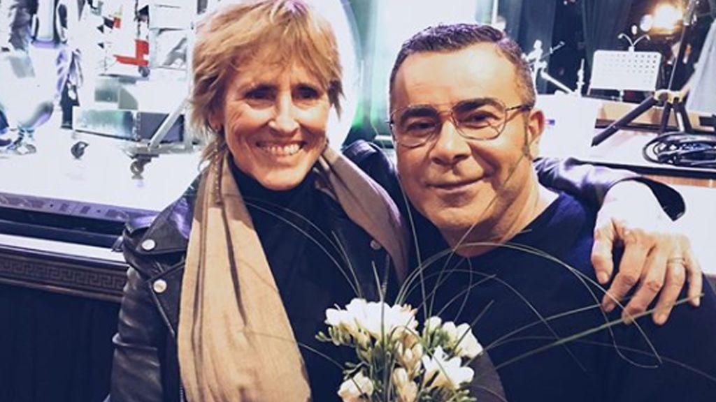 ¡No podía faltar! Mercedes Milá se reencuentra con Jorge Javier en el teatro