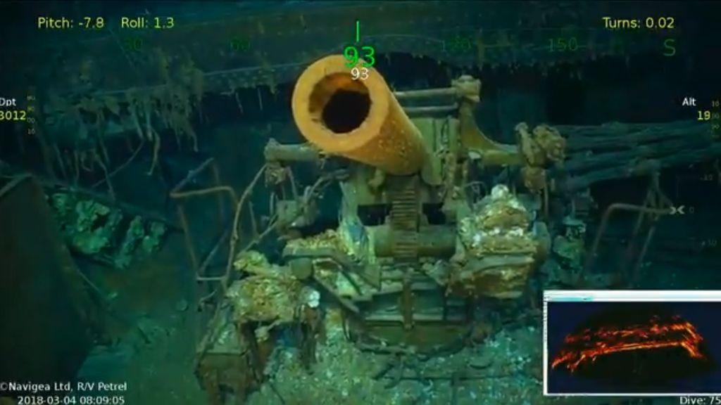 Hallan  los restos del portaaeronave estadounidense Lexington, hundido por Japón en la IIGM