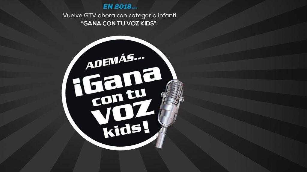 'Gana con tu voz Kids' busca las mejores voces del territorio nacional