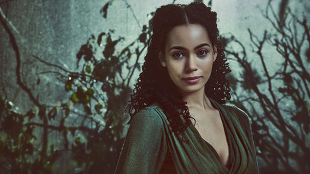 Madeleine Mantock interpreta a Veil en 'Into the badlands'.