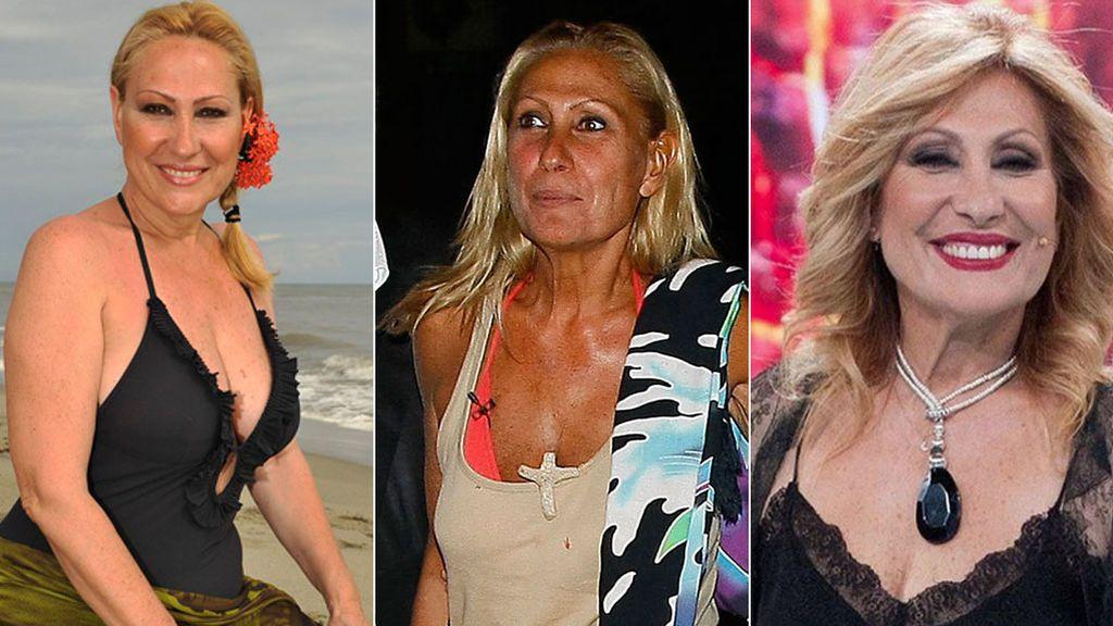 Los concursantes más icónicos de 'Supervivientes' en tres imágenes: Antes, durante y ahora