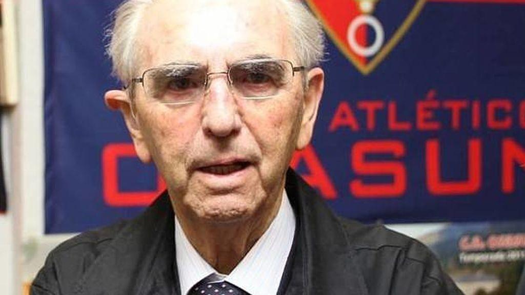 Fallece Fermín Ezcurra, presidente de Osasuna durante 23 años