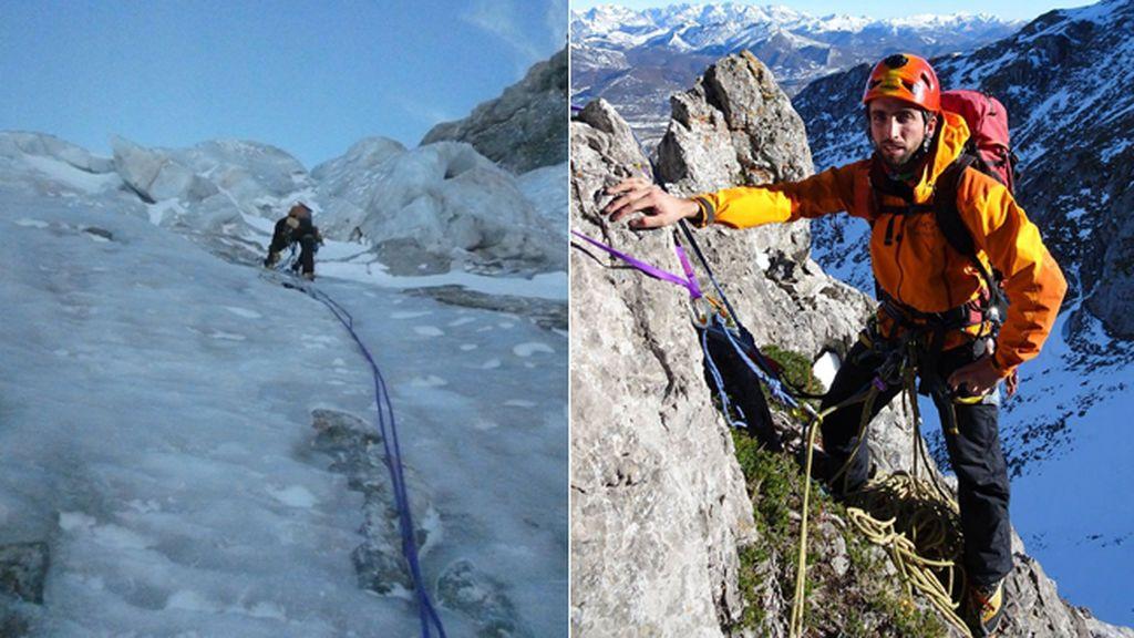 Fallece en un accidente de montaña Klaus García, experto escalador y concejal asturiano de Izquierda Unida