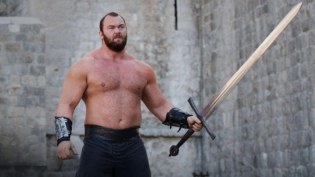 El actor islandésHafpór Júlíus Björnsson da vida a la Montaña en 'Juego de tronos'.