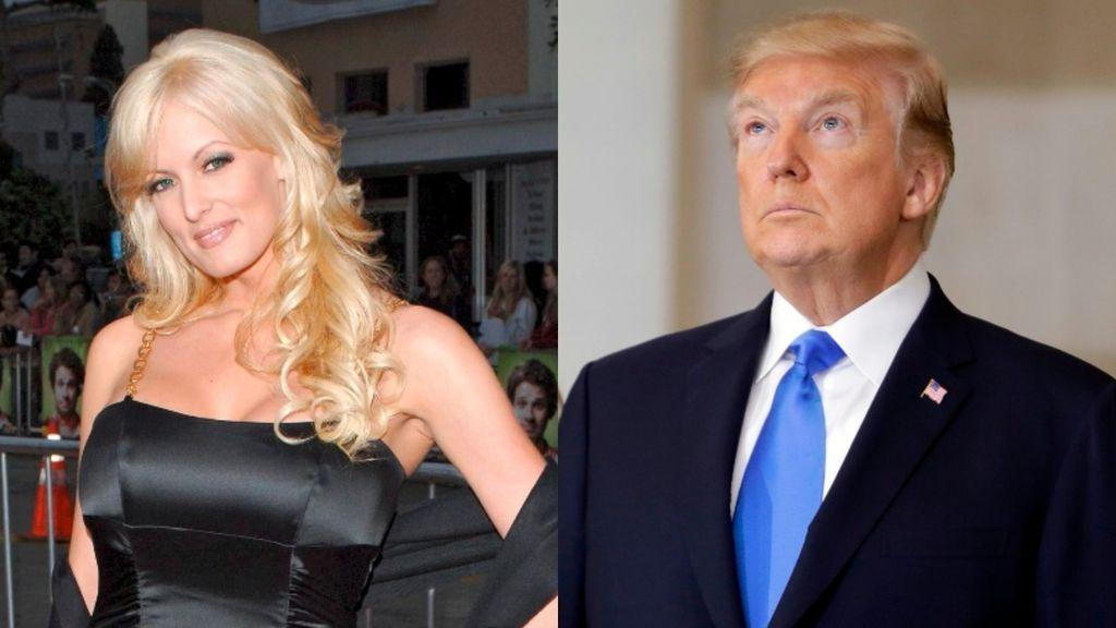 La exactriz porno que supuestamente mantuvo un 'affaire' con Trump presenta una demanda en su contra