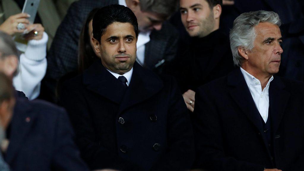 ¿Peligra Unai Emery? La respuesta de Al-Khelaifi tras el batacazo ante el Real Madrid