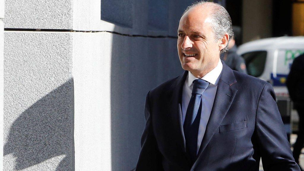 Camps afirma que Costa era el encargado de las cuestiones económicas del PP valenciano
