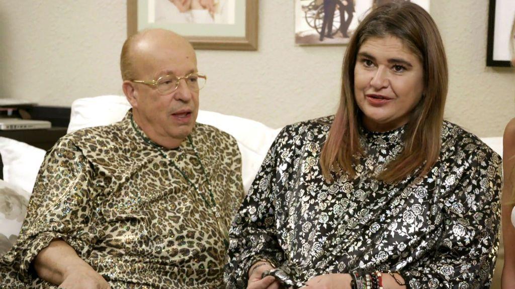 ¿A quién le queda mejor la túnica: a Rappel o a Lucía Etxebarría?