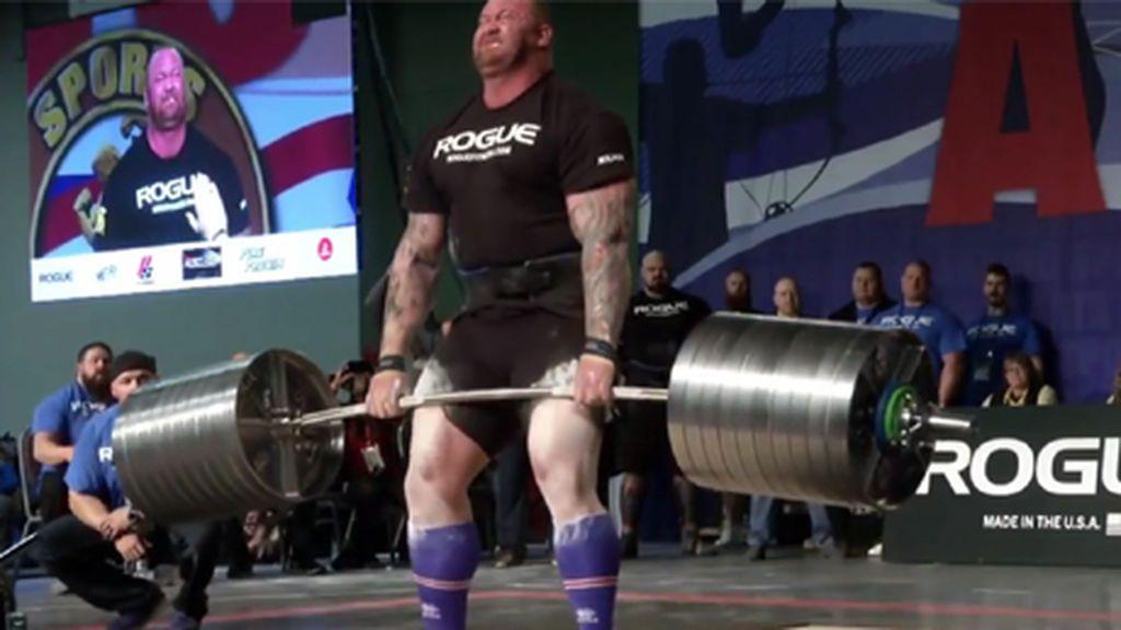La Montaña de 'Juego de tronos', récord mundial en levantamiento de peso