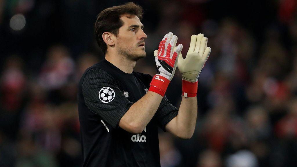 Iker Casillas, paradón y ovación en Anfield para ¿despedirse de la Champions en Liverpool?