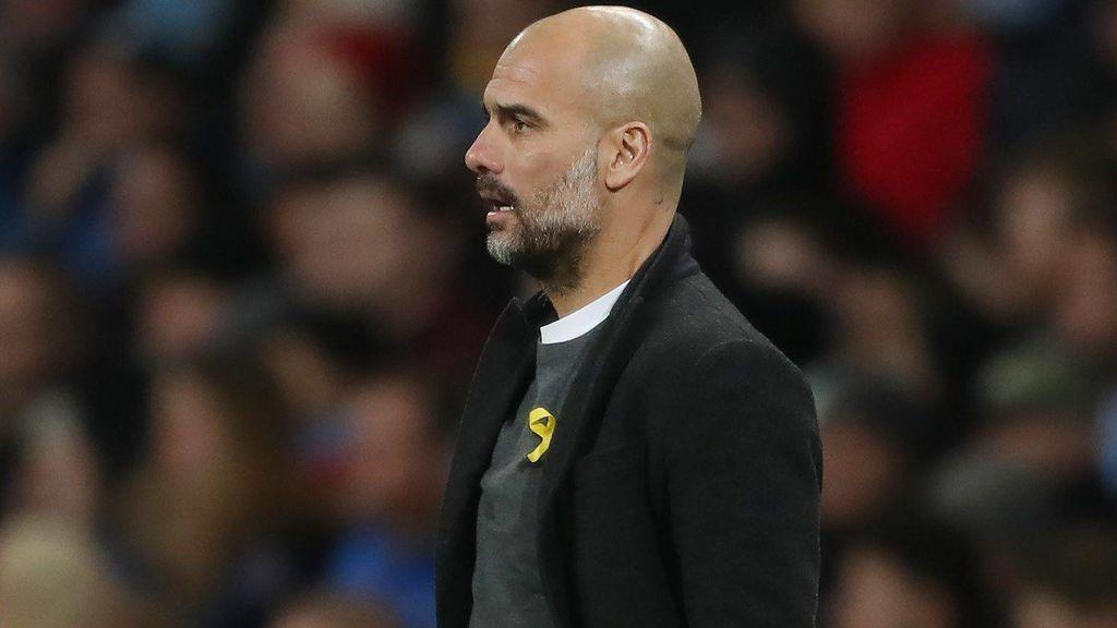 Guardiola, sancionado con 22.500 euros por llevar  el lazo amarillo durante los partidos de la Premier