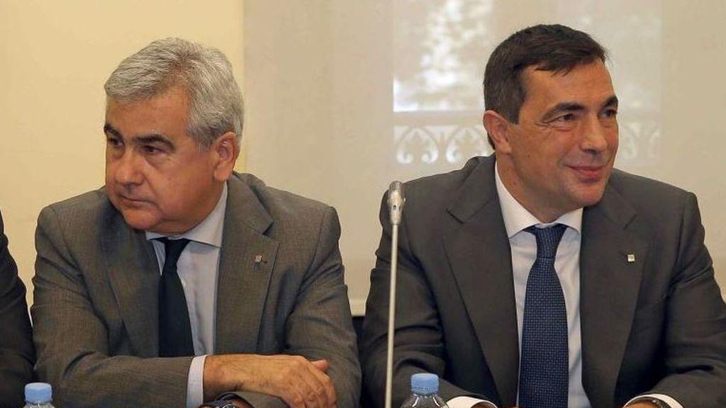 Pere Soler y César Puig, en libertad con medidas cautelares tras declarar por el 1-O