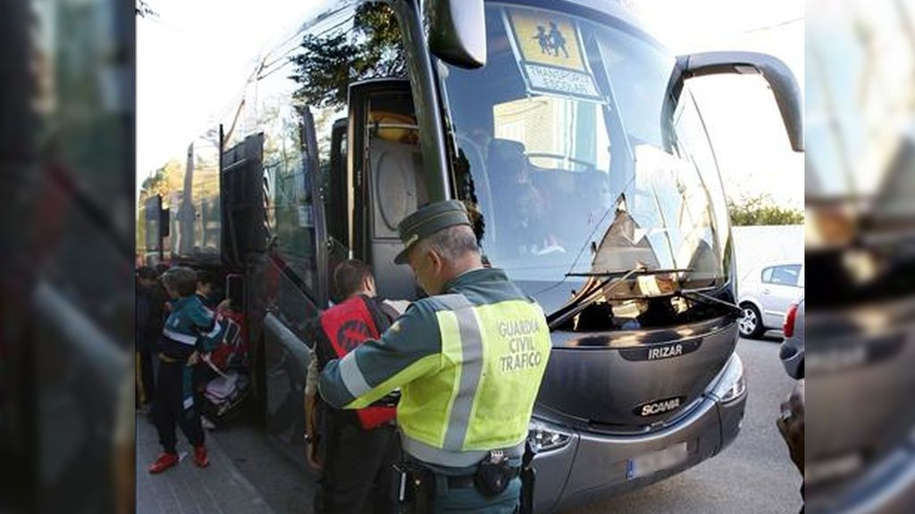 Da positivo por cocaína el conductor de un autobús escolar en Salamanca