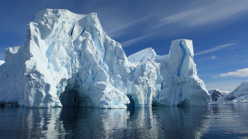 El hielo ártico, en mínimos invernales