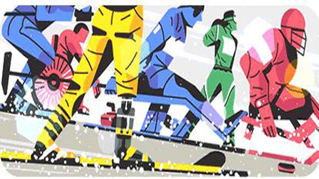 Google celebra los Juegos Paralímpicos de Pieonchang 2018 con un doodle