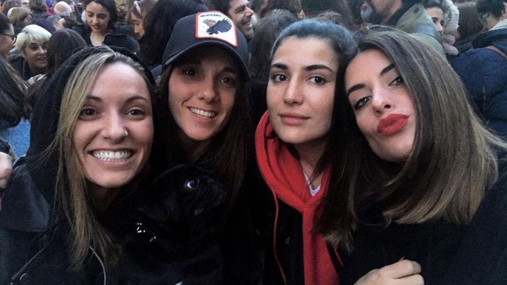 Dulceida, Leticia Dolera, Aura Garrido... decenas de vips se sumaron al tsunami feminista del 8 de marzo en las calles