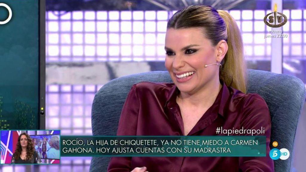 """María L.: """"Me gustaría que Gustavo viniese a la isla e hiciéramos 'un Rosa Benito"""""""