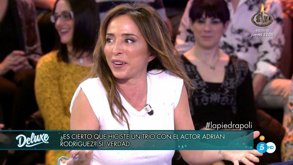 """Todos lloran de la risa con María Patiño: """"Creía que una orgía era a partir de 9 personas"""""""