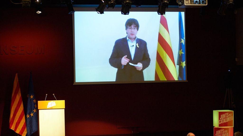 """Puigdemont critica que un juez sea """"más importante que más de 2 millones de catalanes"""""""