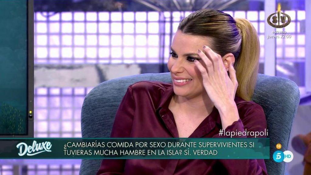 """María L. deja helados a Gustavo y a los colaboradores: """"Sí, cambiaría comida por sexo en la isla"""""""
