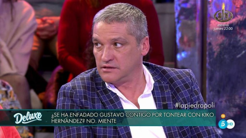 El polígrafo confirma que Gustavo ha sentido celos del 'tonteo' de María L. y Kiko Hernández