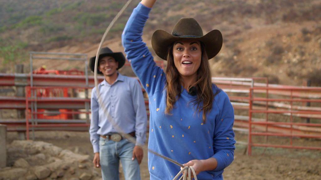 ¡Lara Álvarez y Calleja se convierten en auténticos cowboys mexicanos!