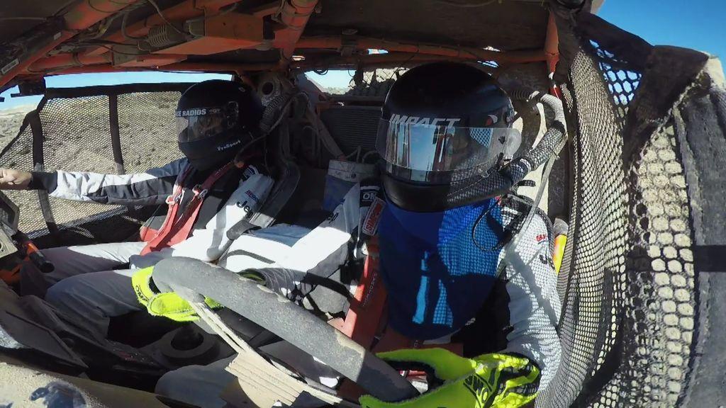 ¡Pura adrenalina! Calleja al volante y Lara de copiloto, el equipo perfecto para un rally