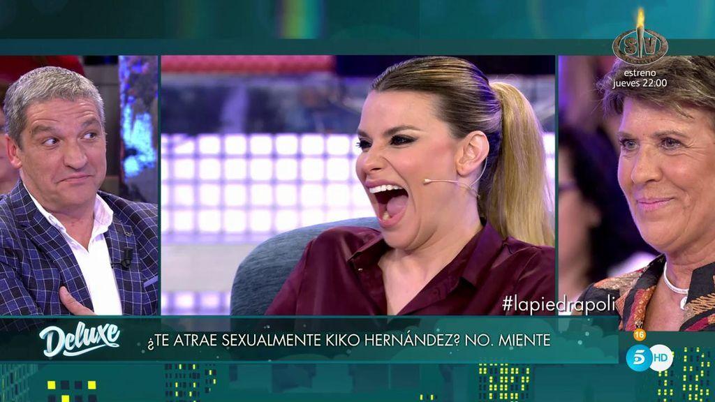 Se desvela el gran misterio: ¡A María Lapiedra le atrae Kiko Hernández!