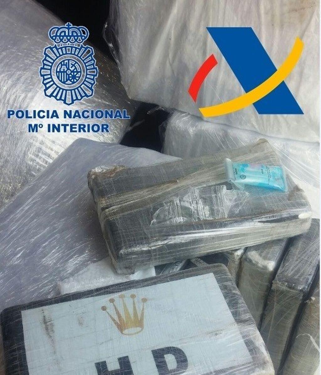 Intervenido un alijo de 680 kilos de cocaína en un contenedor en Barcelona