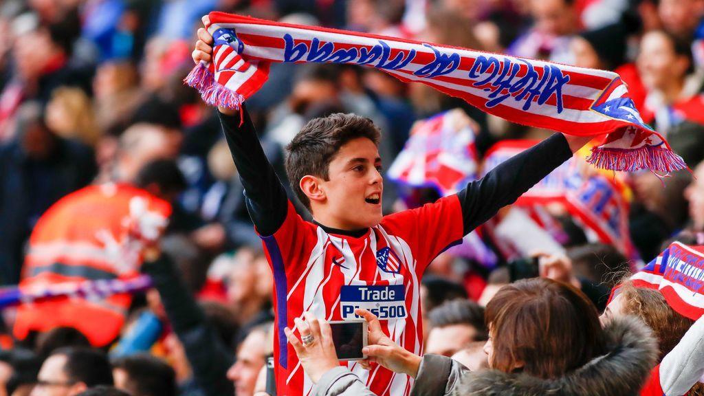 A un alumno de Primaria le piden que forme una palabra con rojo y blanco y su respuesta es puro amor por el Atlético de Madrid