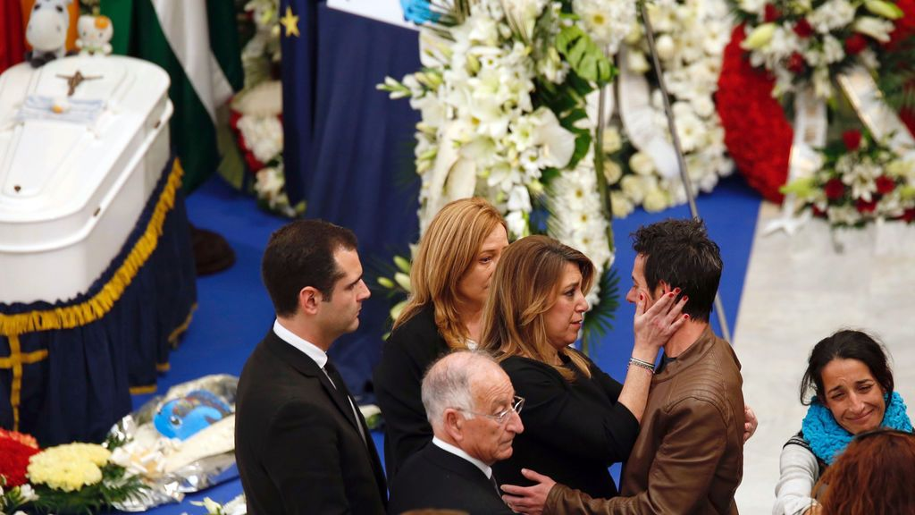 Susana Díaz transmite su apoyo a los padres de Gabriel