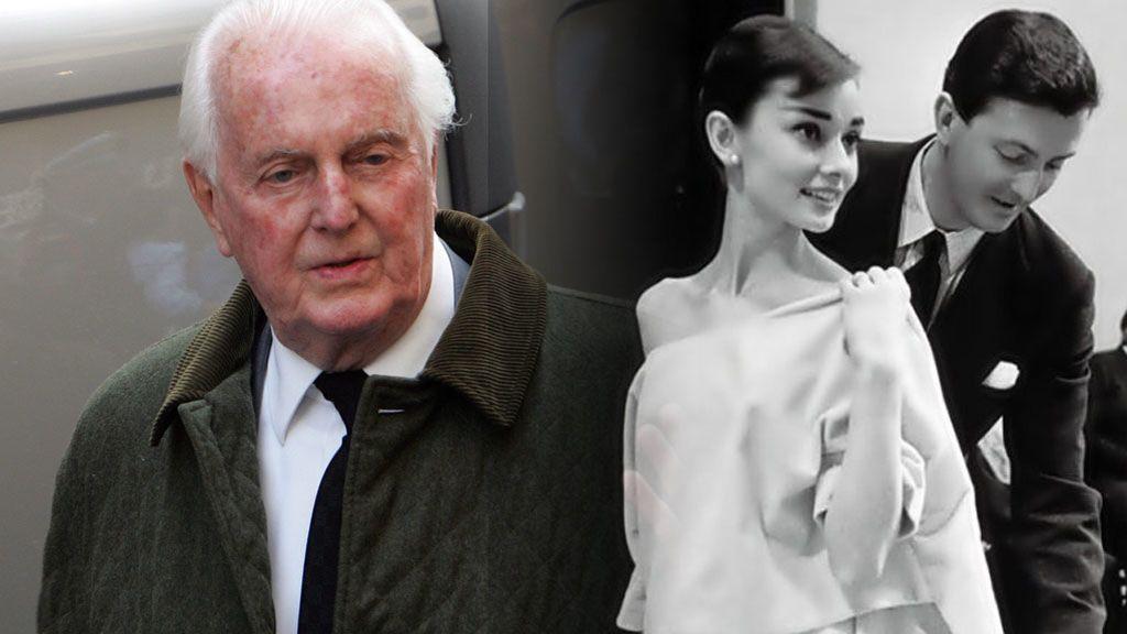 Muere a los 91 años Givenchy, el diseñador que convirtió a Audrey Hepburn y Jackie Kennedy en iconos de moda