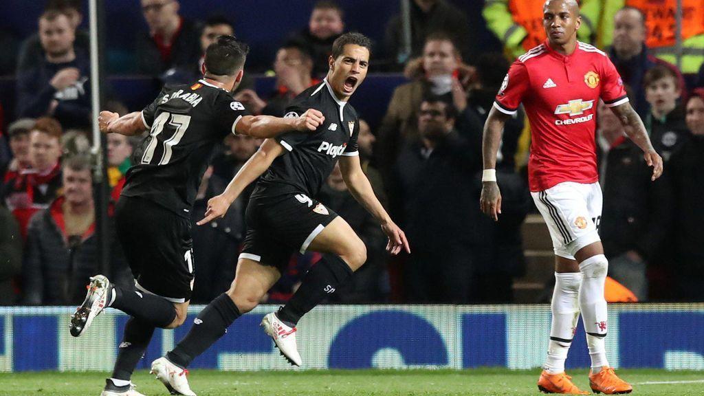 El Sevilla echa al United de Mourinho de la Champions y se mete en cuartos 60 años después