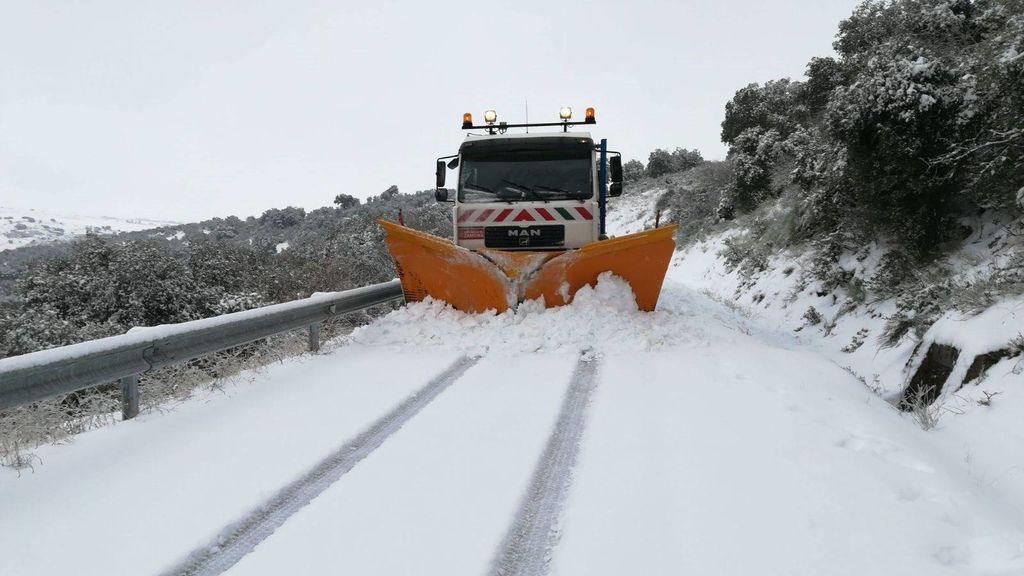 ¡Nevadas a 700 metros! El frente frío que acompaña a Gisele traerá más nieve al norte