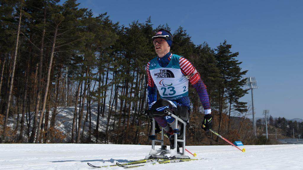 Prueba de esquí en los Juegos Paralímpicos de Invierno