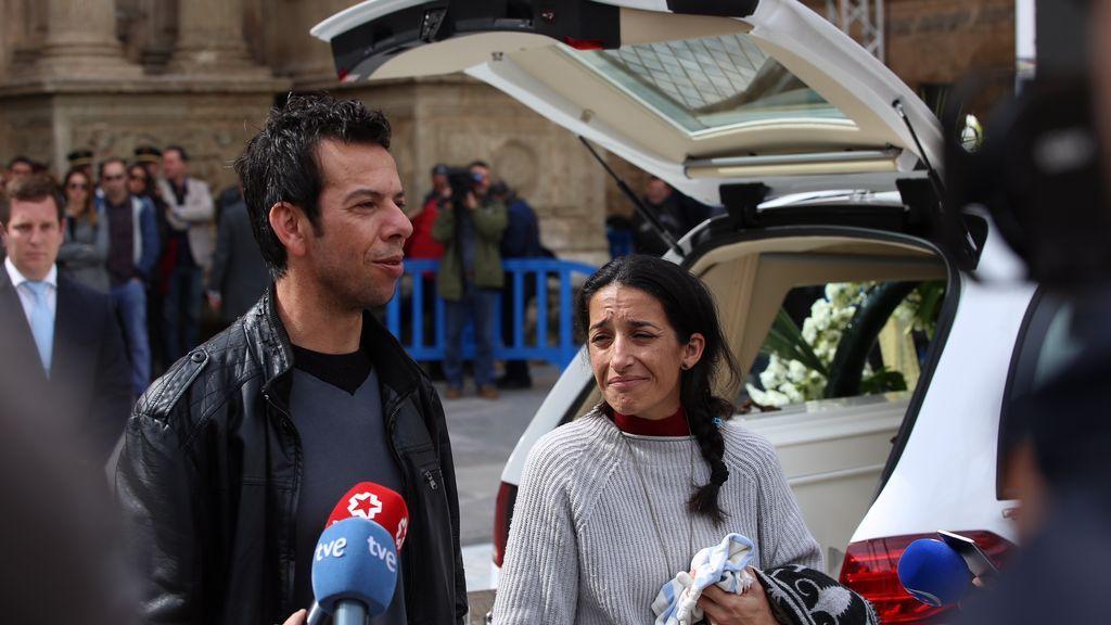 Los padres de Gabriel hablan con los medios