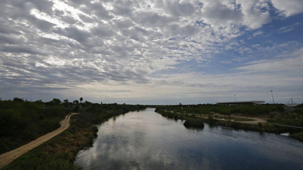 Bonita vista del Río Grande