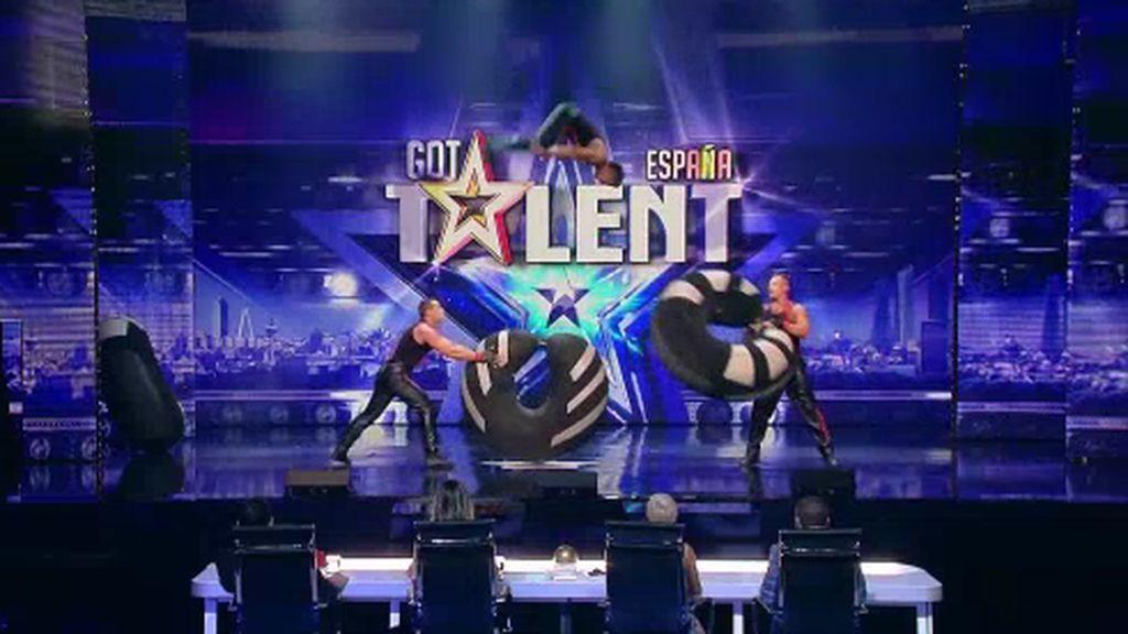 Música, magia y acrobacias en la tercera semifinal de 'Got talent'