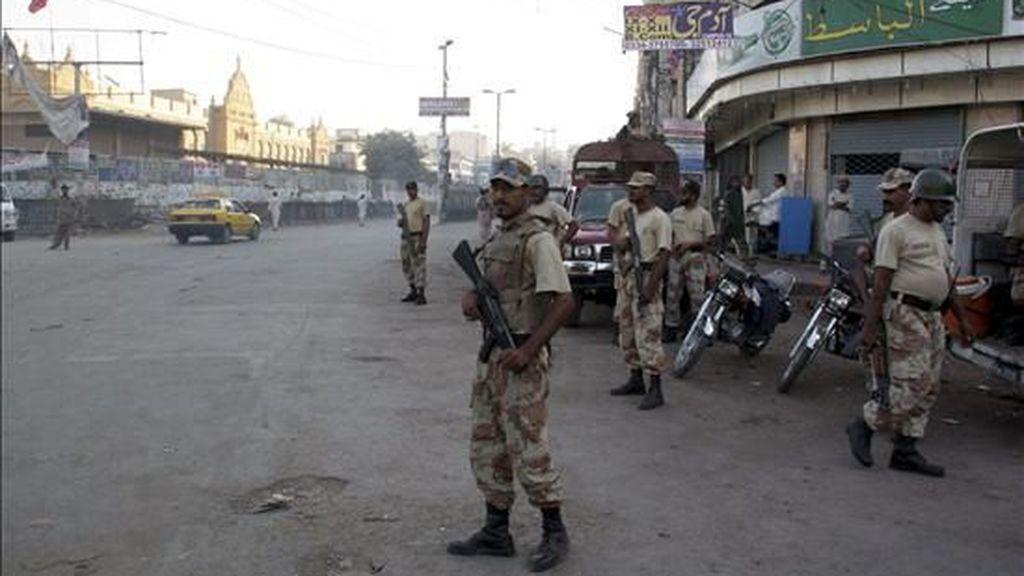 Mueren seis personas en un atentado perpetrado cerca de un puesto policial en Pakistán