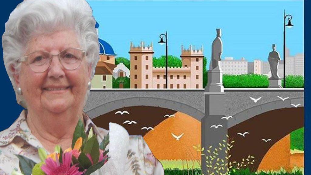 Concha, la abuela de 87 años que crea auténticas obras de arte con Paint