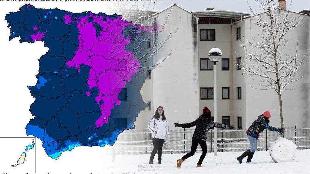Frío, mucho frío para la última semana del invierno: ¡hará 15ºC menos de lo normal!